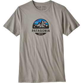 Patagonia Fitz Roy Scope Organic T-Shirt Herren feather grey